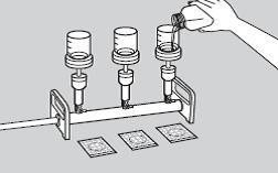 Этапы посева на петрифильмы методом мембранной фильтрации.