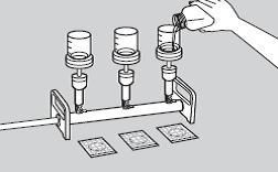Этапы посева на петрифильмы методом мембранной фильтрации