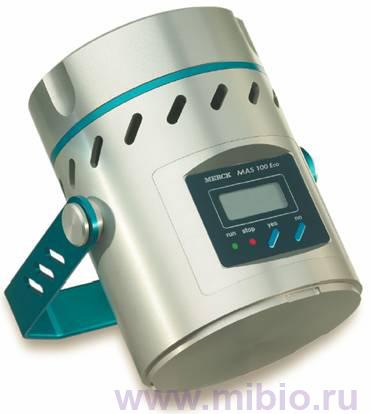 Микробиологический контроль воздуха проводится с помощью прибора MAS-100...